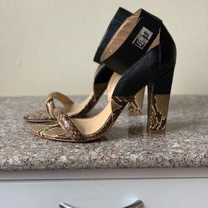 Aldo Rise leather sandals, size 38, US size 7.5